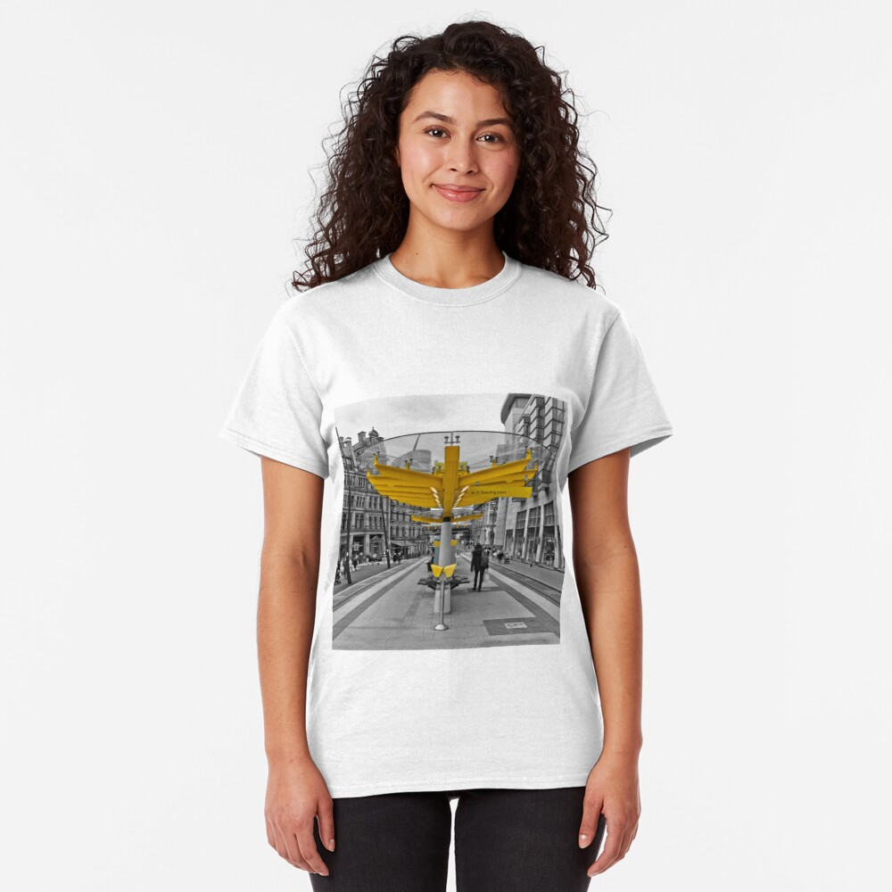 Manchester, Transport Links Classic T-Shirt