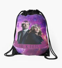 the x files Drawstring Bag