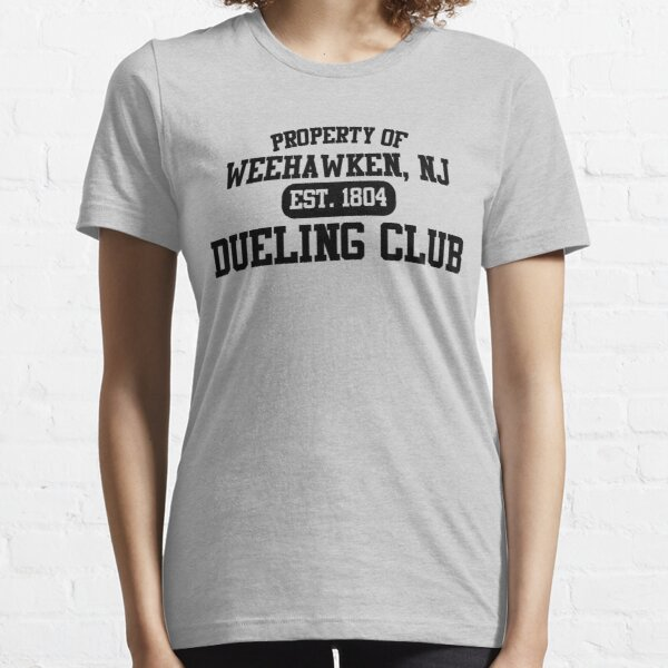 Property of Weehawken NJ Dueling Club Essential T-Shirt