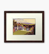 Gold Hill Framed Print