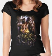 TMNINETY Women's Fitted Scoop T-Shirt