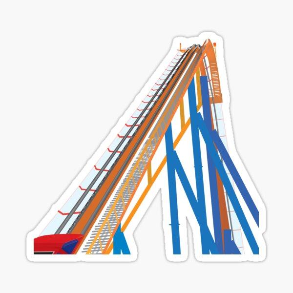Roller Coaster Sticker