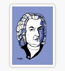 Bach by Arty Margit Sticker