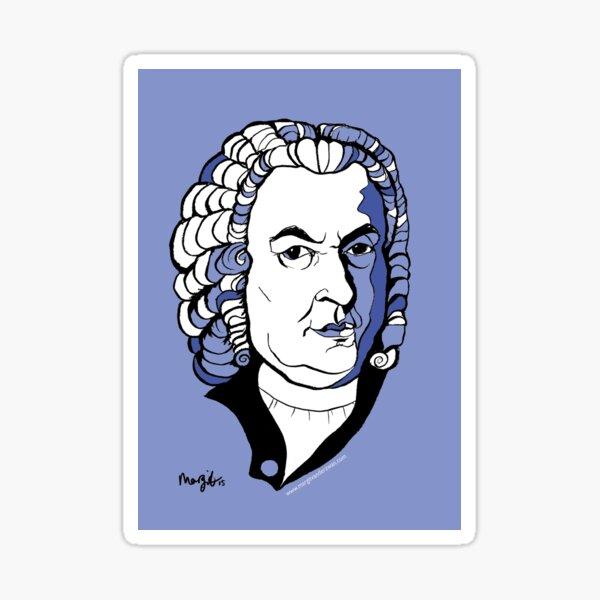 Bach by Arty Margit Sticker