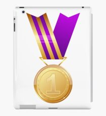 Gold medal number one iPad Case/Skin