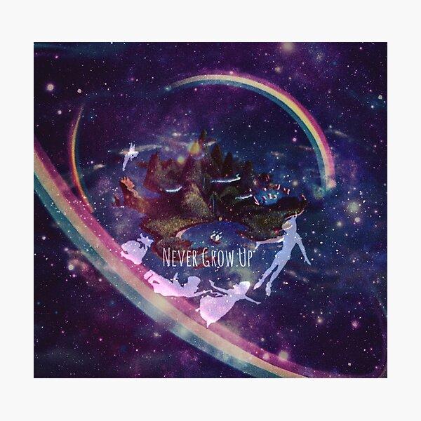 Neverland Galaxy Photographic Print