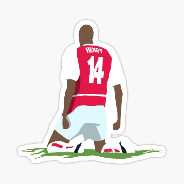 Thierry Henry at White Hart Lane Sticker