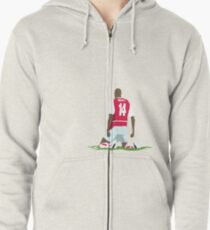 Thierry Henry at White Hart Lane Zipped Hoodie
