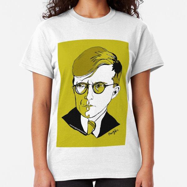 Dmitri Shostakovich Russian Composer  Classic T-Shirt