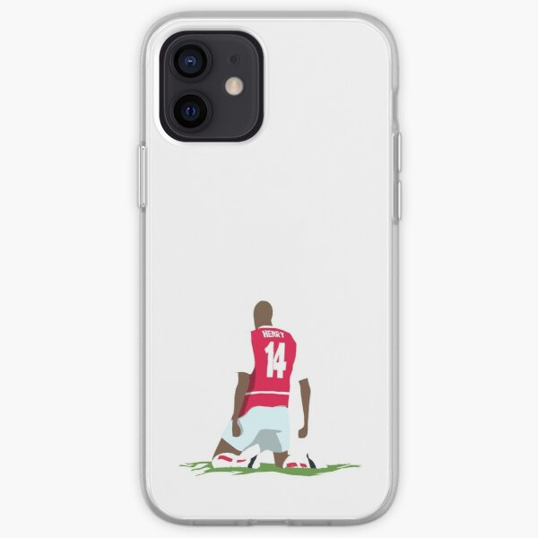 Thierry Henry at White Hart Lane iPhone Soft Case