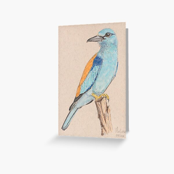 Roller/Rollier Greeting Card