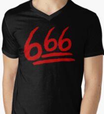 666 on Fleek Men's V-Neck T-Shirt