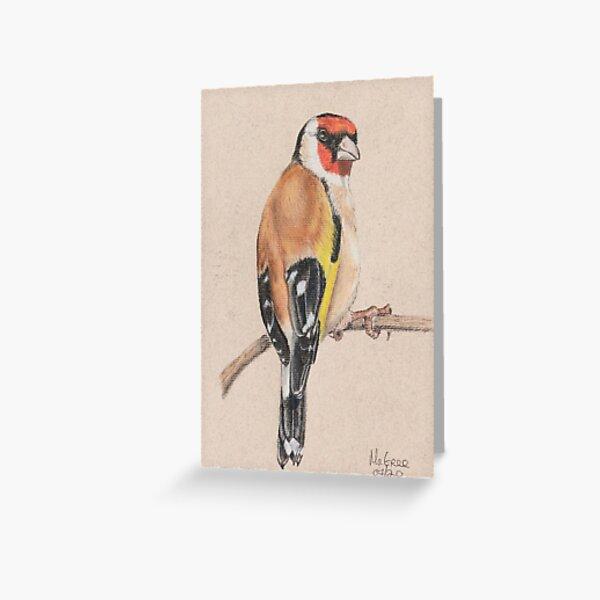 Goldfinch/Chardonneret Greeting Card