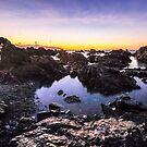 Red Rocks Walkway Dawn, Owhiro Bay by SeeOneSoul