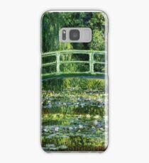 Monet - Water Lilly Pond (1900) Samsung Galaxy Case/Skin