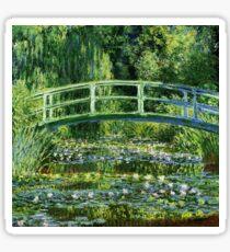 Monet - Water Lilly Pond (1900) Sticker