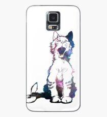 Cosmic Kitty Funda/vinilo para Samsung Galaxy