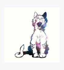 Cosmic Kitty Lámina artística