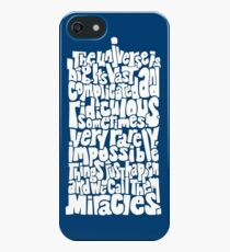 Full of Miracles (white) iPhone SE/5s/5 Case