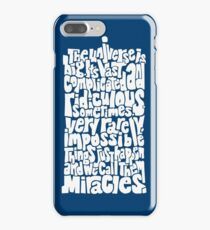 Full of Miracles (white) iPhone 7 Plus Case