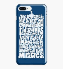 Full of Miracles (white) iPhone 8 Plus Case