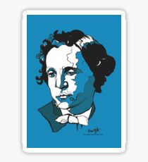 Lewis Carroll - Alice in Wonderland Sticker