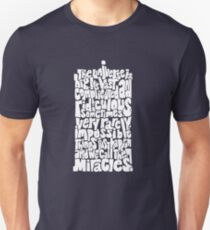 Full of Miracles (white) Unisex T-Shirt