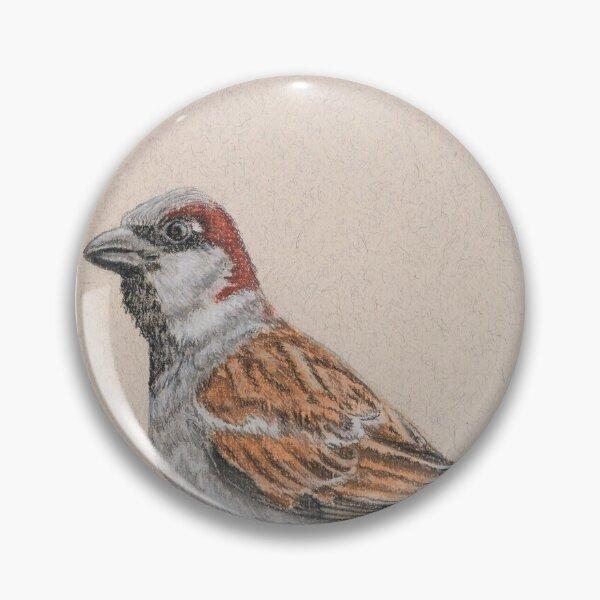 House Sparrow/Moineau Pin