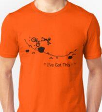 "Cycling Crash, Mountain Bike "" I've Got This ! "" Cartoon Unisex T-Shirt"