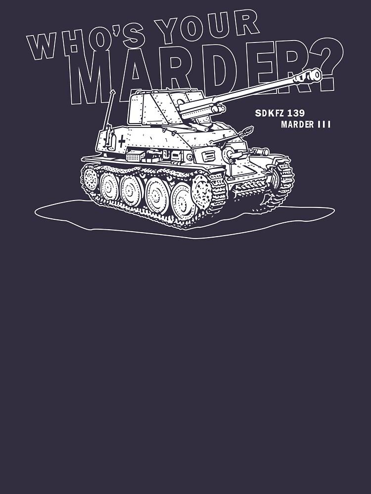 Marder III Anti-Tank Gun by b24flak