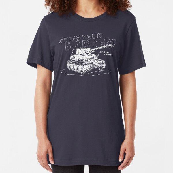 Marder III Anti-Tank Gun Slim Fit T-Shirt
