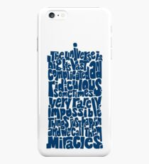 Full of Miracles (blue) iPhone 6s Plus Case