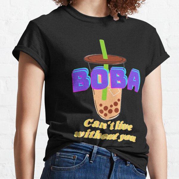Boba Milk Tea Lover Classic T-Shirt