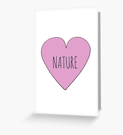 Nature Love Greeting Card