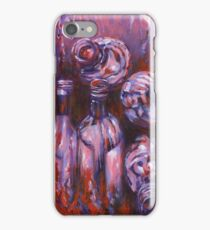 Acrylic painting, bottles contemporary art iPhone Case/Skin