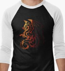 Dragon Men's Baseball ¾ T-Shirt
