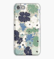 Vinage Flowers Pattern iPhone Case/Skin