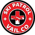 VAIL COLORADO Skiing Ski Patrol Mountain Art by MyHandmadeSigns