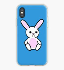 Three little Sad Bunnies iPhone Case