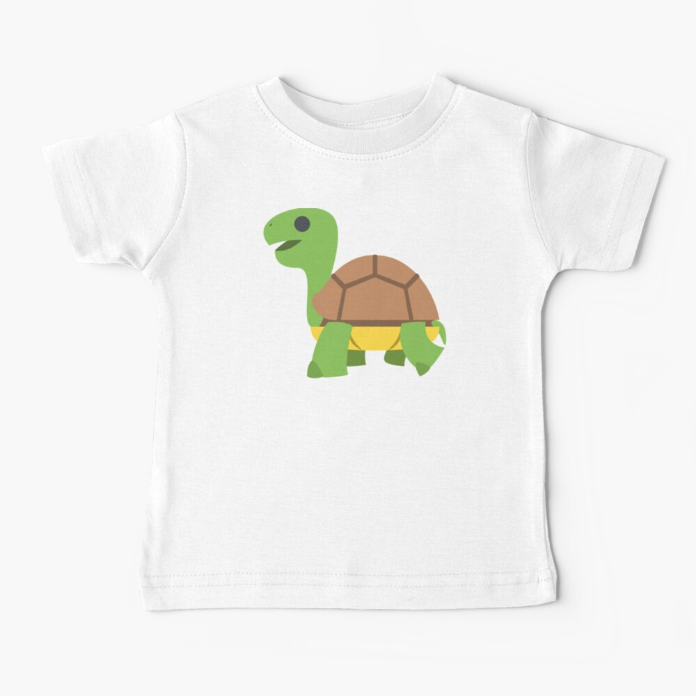 Turtle Tortoise Emoji turtle gifts for turtle lovers Baby T-Shirt