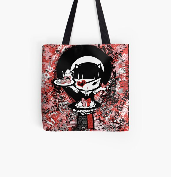 Gothic Painting All Over Print Tote Bag
