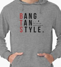 Bangtan Style--with names!  Lightweight Hoodie