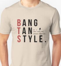 Camiseta ajustada Bangtan Style--with names!
