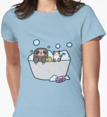 Sloth Kitty Bath T-Shirt