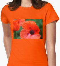 Crepe Paper Petals Womens Fitted T-Shirt