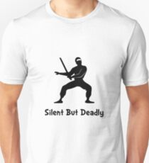 Silent Deadly Ninja T-Shirt