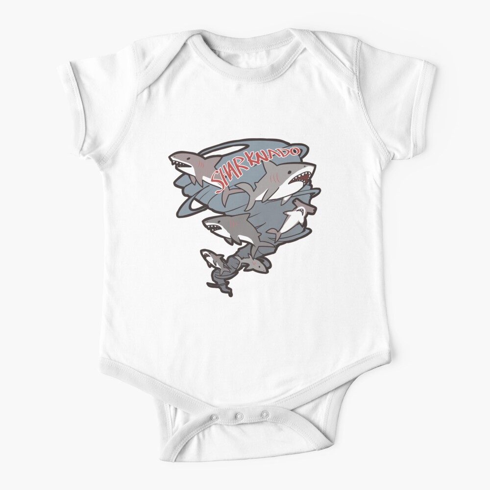 Cute Sharknado Baby One-Piece