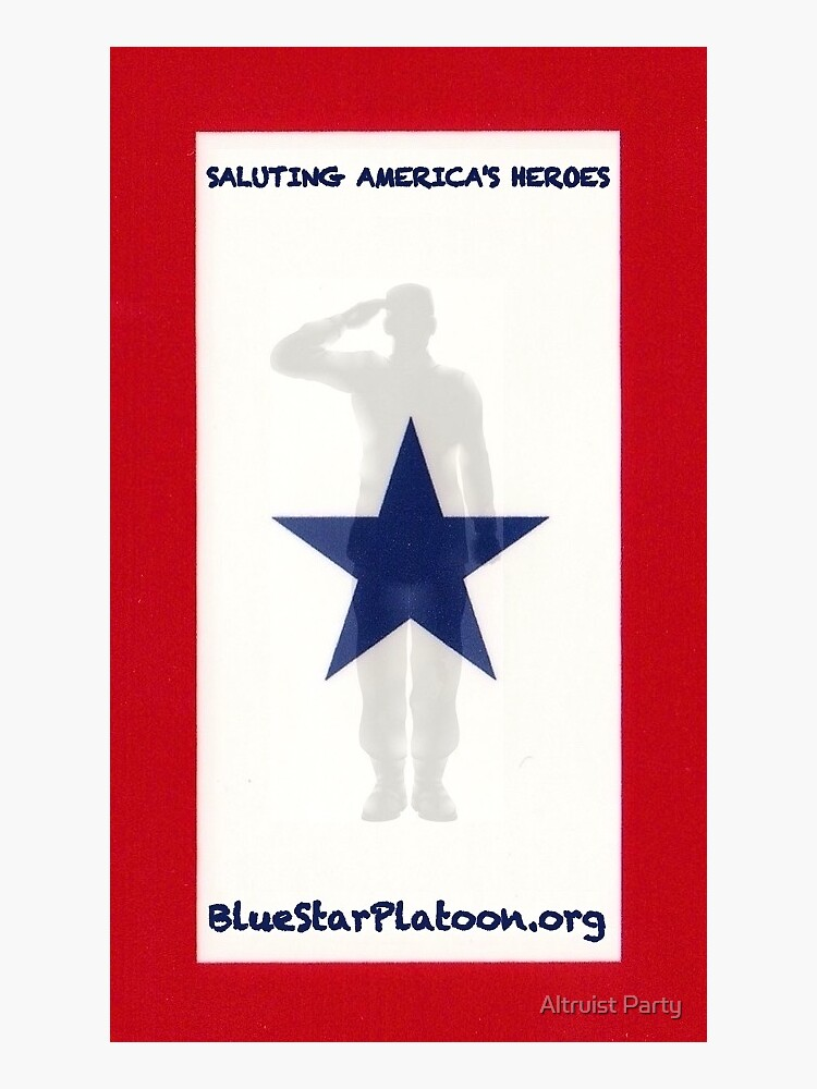 Blue Star Family Platoon by altruistparty