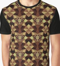 Amish Style Pattern Graphic T-Shirt