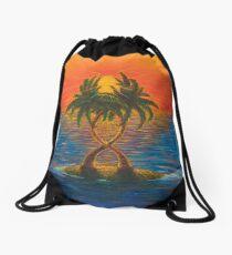 Passionate Palms Drawstring Bag